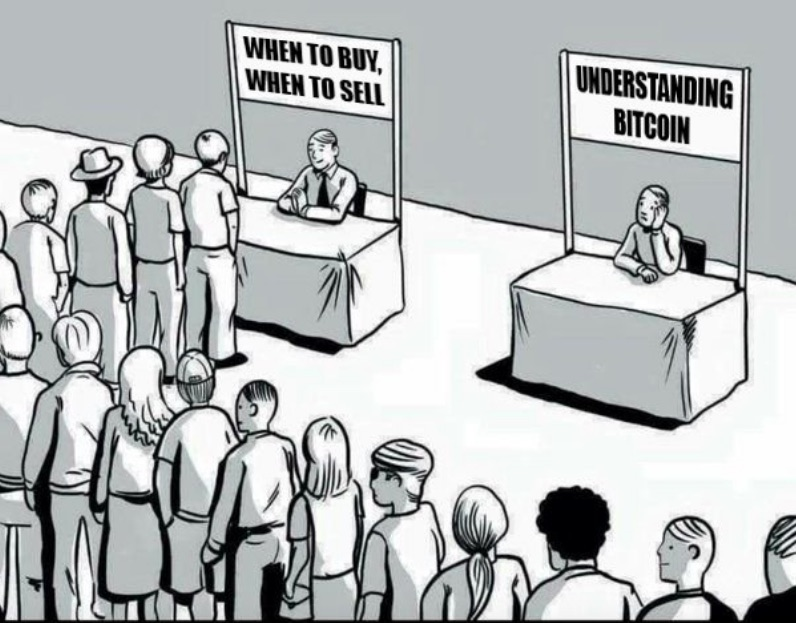 People interested in buying and selling Bitcoin but not interested in understanding and learning how Bitcoin works